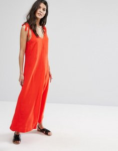 Read more about Selected red sleeveless dress - flame scarlet