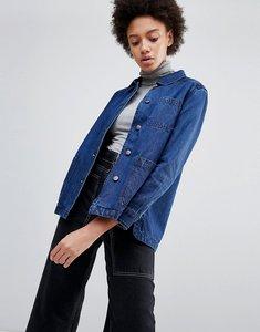 Read more about Parka london grace denim workers jacket - denim blue