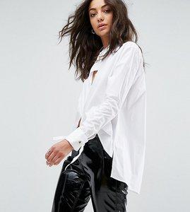 Read more about Glamorous tall boyfriend work shirt - white