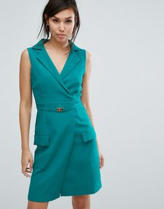 Read more about Vesper tailored sleeveless dress - jade