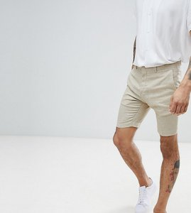 Read more about Heart dagger smart shorts in linen - sand