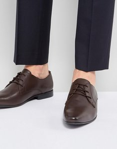 Read more about Kg by kurt geiger kendall derby shoes brown leather - brown