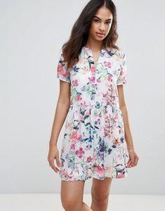 Read more about Frnch flower print dress - white flower print
