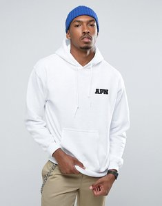 Read more about Apn embroidered logo hoodie - white