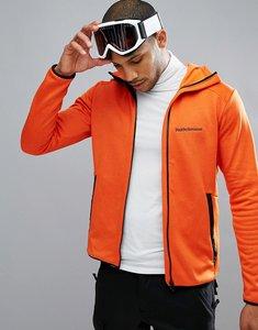 Read more about Peak performance fleece half zip fleck sweat in orange - 85n orange lava