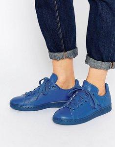 Read more about Adidas originals stan super colour blue trainers - blue blue blue