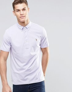 Read more about Polo ralph lauren polo shirt in oxford pique slim fit pink - pink