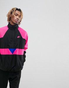 Read more about Nike vaporwave packable half zip jacket in black aj2299-010 - black