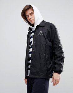 Read more about Huf triple triangle coach jacket - black