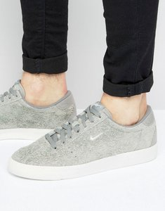 Read more about Nike match classic suede trainers in grey 844611-003 - grey