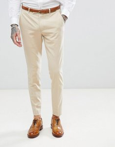 Read more about Harry brown biscuit stretch skinny fit suit trouser - beige