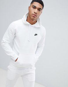 Read more about Nike pullover hoodie with embroidered logo in white 804346-100 - white