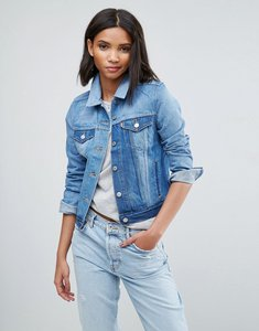 Read more about Levis original remixed denim trucker jacket - remixed indigo