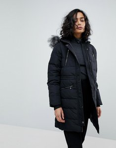 Read more about Y a s down padded coat - black