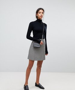 Read more about Selected femme check mini skirt - multi