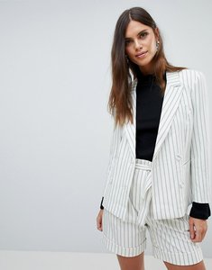 Read more about Y a s striped blazer co-ord - multi