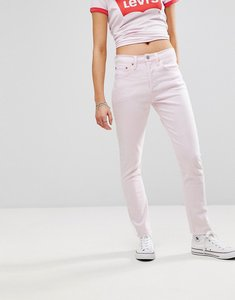 Read more about Levi s 501 high rise skinny jean - acid iced lilac