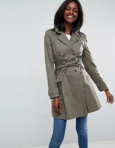 Read more about Asos skater trench coat - khaki