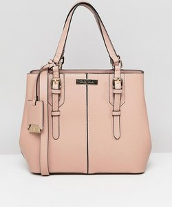 Read more about Carvela ortha mini slouch tote bag - pink