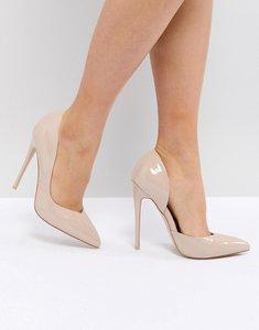 Read more about Public desire sachi court shoes - nude pu