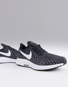 43241f162b Read more about Nike running air zoom pegasus trainers in black and white