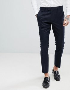 Read more about Harry brown tile jacquard skinny fit suit dinner trouser - navy