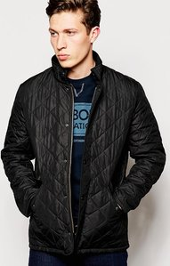 Read more about Barbour chelsea sports quilt jacket - black
