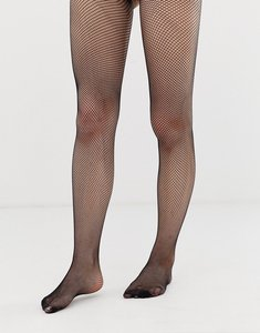 Read more about Asos small fishnet tights - black
