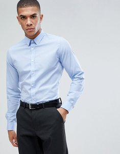 Read more about French connection slim smart shirt - kentucky blue