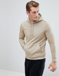 Read more about Bravesoul basic overhead pocket hoody - cream