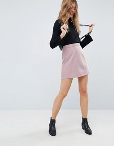 Read more about Asos tailored a-line mini skirt - nude