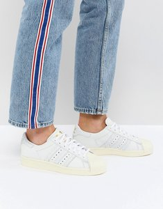 Read more about Adidas originals superstar trainers - white