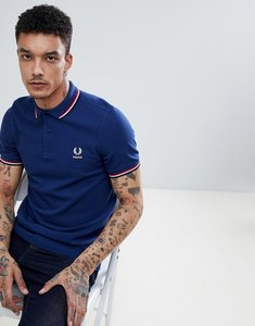 Read more about Fred perry france polo in blue - 143