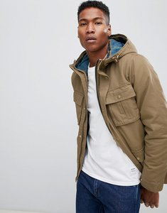 Read more about Jack jones vintage parka with removable quilted jacket - ermine