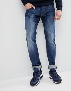 Read more about Emporio armani j20 extra slim fit mid wash distressed jeans - 0941