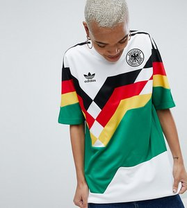 Read more about Adidas originals germany mashup football shirt - multi