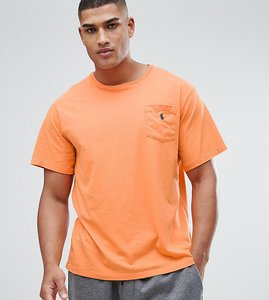 Read more about Polo ralph lauren tall logo pocket t-shirt in orange - may orange