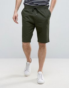 Read more about Troy casual draw string shorts - khaki