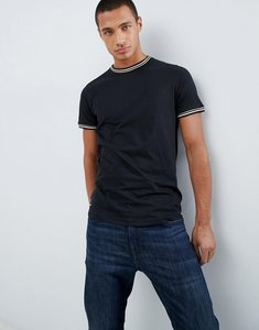 Read more about Threadbare ringer t-shirt - black
