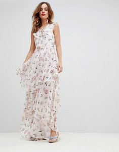Read more about Y a s soft tiered maxi dress - multi