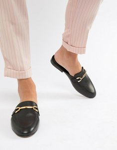 18015425b56 asos movie leather mule loafers gold - Shop asos movie leather mule ...