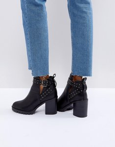 Read more about Miss kg taffy studded heeled ankle boots - black