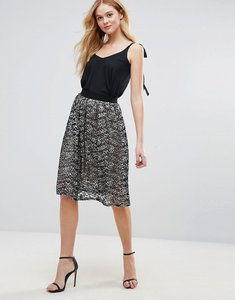 Read more about Love lace skirt - black