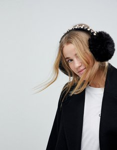 Read more about Johnny loves rosie embellished ear muff - black