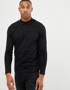 50647cee6dbd asos design polo neck long sleeve top in black black - Shop asos ...