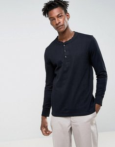 Read more about Levis long sleeve heavy weight henley - black beauty