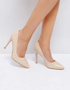 Read more about Truffle collection point high heels - nude patent