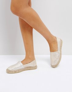 Read more about Pieces leather light sand espadilles - light sand
