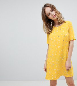 Read more about Glamorous petite shift dress in ditsy floral - yellow floral