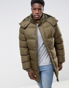 Read more about French connection padded hooded jacket - green